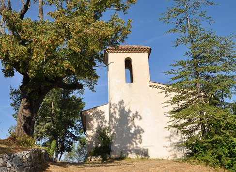 Rénovation partielle de la chapelle de Montpezat (04)