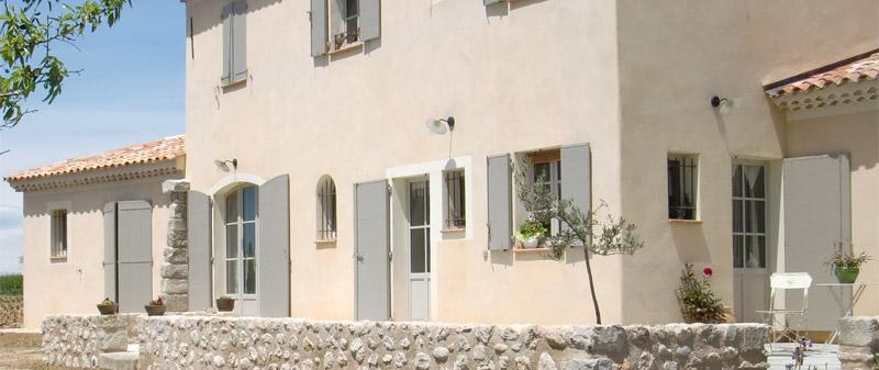 Maconnerie Segond-Richier, Riez - Construction d'une villa traditionnelle à Montagnac (04)