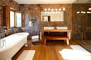 salle de bain de la suite Bastidon