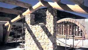 Création d'une villa avec façade en pierre à La Palud sur Verdon