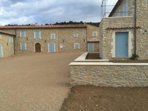 Rénovation d'une ferme à Montpezat (04)